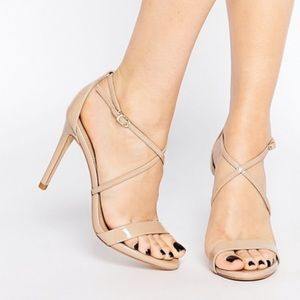 Perfect Nude Strappy Stunning Dress Sandal
